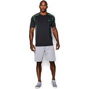 Under Armour Men's Raid Short Sleeve Training T-Shirt - Black/Green Energy