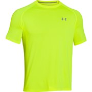 Under Armour Men's Tech T-Shirt - Hi Vis Yellow