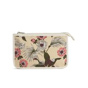 Maison Scotch Women's Canvas Toiletries Bag Tropical Prints - Multi