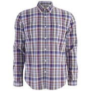 Barbour Men's George Oxford Shirt - Rustic Check