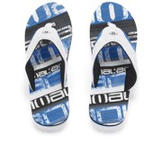 Animal Men's Jekyl Torn Flip Flops - Blue