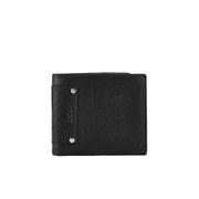 DKNY Men's Leather Billfold Wallet - Black
