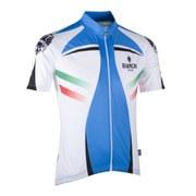 Bianchi Tamega Short Sleeve Jersey - White/Blue