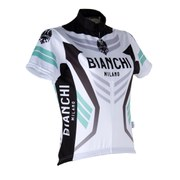 Bianchi Women's Navia Short Sleeve Jersey - White