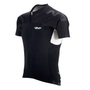 Nalini Black Label Aeprolight Half Body Short Sleeve Jersey - Black