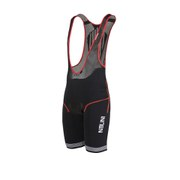 Nalini Red Label Fino Bib Shorts - Black/Red