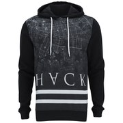 Hack Men's Thule Print Hoody - Black
