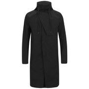 Helmut Lang Men's Storm Flap Overcoat - Black
