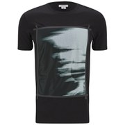 Helmut Lang Men's Ghost Print Mesh Base T-Shirt - Black