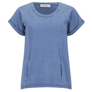 Ash Women's Bum Long Back T-Shirt - Indigo