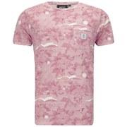 WeSC Men's Sarek Hawaii Printed T-Shirt - Pink