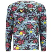 WeSC Men's Hawaii Roman Printed Crew Neck Sweatshirt - Multi