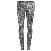 McQ Alexander McQueen Women's Printed Leggings - Silver