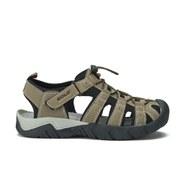 Gola Men's Pilgrim Sports Sandals - Forest Green/Stone/Black