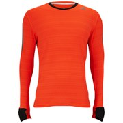adidas Supernova Men's Long Sleeve T-Shirt - Solar Red/Black