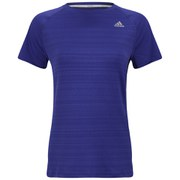 adidas Supernova Women's Short Sleeve Top - Purple