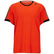 adidas Supernova Men's Short Sleeve T-Shirt - Solar Red/Black