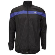 adidas Response Men's Wind Jacket - Black/Night Flash