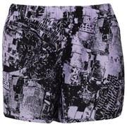 adidas Adistar Women's M10 Energy Shorts - Purple/Flash Orange