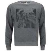 Opening Ceremony Men's Palm Logo Crew Neck Sweatshirt - Melange Grey