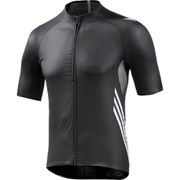 adidas Men's Adizero Short Sleeve Jersey - Black