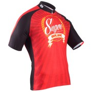 Sugoi Beer Short Sleeve Jersey - Red/Black