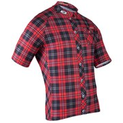 Sugoi Lumberjack Short Sleeve Jersey - Red