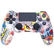 PlayStation DualShock 4 Custom Controller - Sticker Bomb