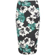 The Fifth Women's Sleepwalker Midi Skirt - Dark Jungle