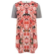Finders Keepers Women's Stolen Chance T-Shirt Dress - Blurred Floral