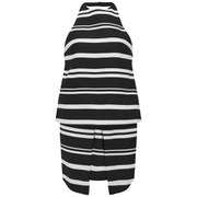Finders Keepers Women's The Renaissance Dress - Dark Stripe