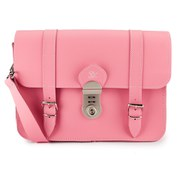 Grafea Women's Paris Leather Satchel - Pink