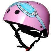 Kiddimoto Goggle Helmet - Pink