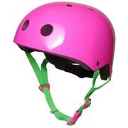 Kiddimoto Helmet - Neon Pink