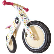Kiddimoto Pastel Dotty Kurve Bike
