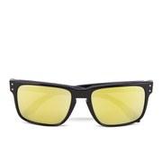 Oakley Men's Holbrook Sunglasses - Pol Black/24k Iridium