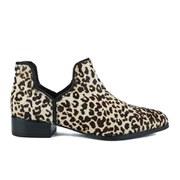 Senso Women's Bailey III Leopard Pony Ankle Boots - Latte