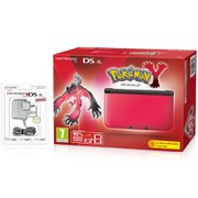 Nintendo 3DS XL Red/Black + Pokemon Y