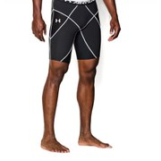 Under Armour Men's Heat Gear Core Shorts - Black/White