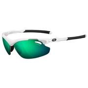 Tifosi Tyrant 2.0 Clarion Mirror Sunglasses - White/Clarion Green