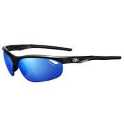 Tifosi Veloce Clarion Mirror Sunglasses - Gloss Black/Clarion Blue