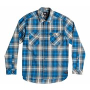 Quiksilver Men's Everyday Flannel Check Shirt - Victoria Blue