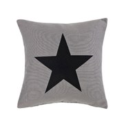 Big Star Cushion - Grey