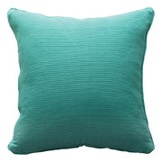 Ribbed Cushion - Turquoise