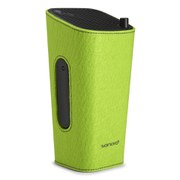 Sonoro Cubo Go New York Portable Bluetooth Speaker - Black/Green Felt
