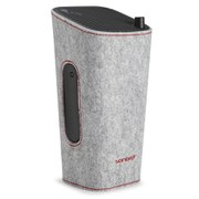 Sonoro Cubo Go New York Portable Bluetooth Speaker - Black/Grey Felt