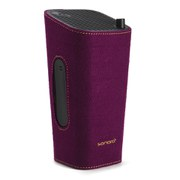 Sonoro Cubo Go New York Portable Bluetooth Speaker - Black/Purple Felt