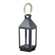 Parlane Camden Lantern - Black (440x160mm)