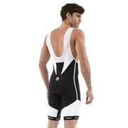 Santini Smarter NAT Pad Bib Shorts - Black