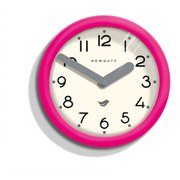 Newgate Pantry Clock - Pink